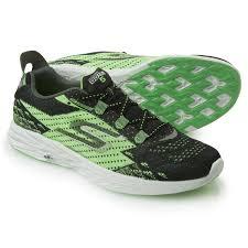 skechers running shoes. skechers gorun 5 running shoes (for men) in black/green