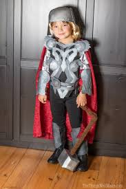 finished full homemade thor s costume shown with helmet