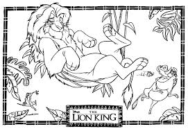 Small Picture Coloring Page Lion King Games Online Play Peruclass