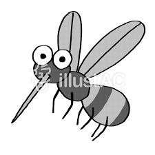 蚊夏のイラスト可愛い手描きイラスト No 1149117無料イラストなら