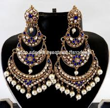 indian lovely kundan earrings whole indian chandelier earrings stani kundan