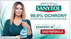 Małgorzata Rozenek-Majdan reklamuje środki czyszczące Sanytol