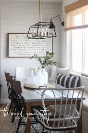 Breakfast nook furniture Upholstered New Breakfast Nook Table The Wood Grain Cottage New Breakfast Nook Table The Wood Grain Cottage