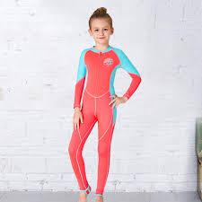 Amazon Com Capsa Neoprene Swimsuit Girls Boys Kids Wetsuit
