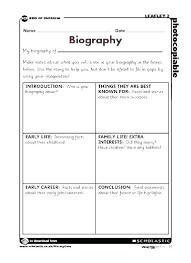 Autobiography Book Report Template Ethercard Co