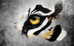 Tiger Oil Paint Wallpapers - Wallpaper Cave