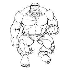 De Hulk Kleurplaten Leuk Voor Kids