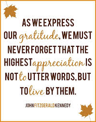 Thanksgiving Quotes John Kennedy. QuotesGram via Relatably.com