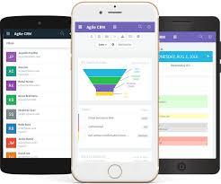 App Sales Mobile Crm Agile Crm
