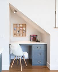 stylish home office space. Home Office Under The Stairs Stylish Space S