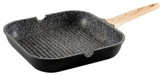 Купить <b>Сковорода</b>-<b>гриль GIPFEL</b> OLIVER 0570 30х30 <b>см</b>, черный ...