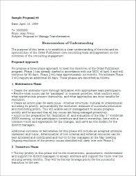 Template Memorandum Of Understanding Template Word Doc Mou