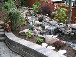 waterfall construction water feature installation from large water fountain for backyard landscape source boulderfallsinc