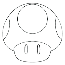 Luxurious And Splendid Super Mario Mushroom Coloring Pages Page Epic