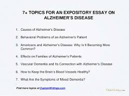 complete guide on how to outline an expository essay on alzheimer s d  4 1