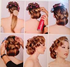 50s wedding hairstyles for long hair google search hair Wedding Hairstyles Step By Step lizzie liros's step by step hairstyle from her step by step guide bridal hair couture book vol 1 looks amazing, but i think i'll leave it to the fancy hairstyles step by step for wedding