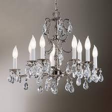 design classic lighting. Classic Lighting Barcelona 22-in 10-Light Millennium Silver Crystal Candle Chandelier Design