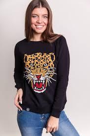 Толстовка MEDOOZA Leopard женская (Черный, S) | www.gt-a.ru