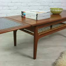 Extending Coffee Table Danish Teak Trioh Extending Coffee Table Furniture Pinterest