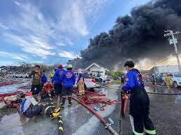เช็กด่วน! พื้นที่เฝ้าระวัง ไฟไหม้โรงงานกิ่งแก้ว 21 สมุทรปราการ