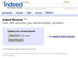 Upload Your Resume To Indeed Upload Resume On Indeed Ckum Ca