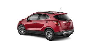 buick encore. exterior of the 2018 encoreu0027s 18 inch aluminum alloy wheels and sport rearwing buick encore t