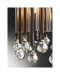 elstead lighting kichler piper 6 light chandelier pendant in espresso finish