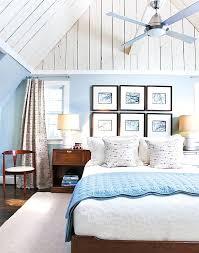 Blue And White Bedroom Beautifully Coastal Beach Bedroom In Navy ...
