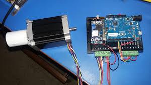 controlling a high torque stepper motor with arduino