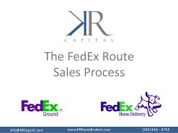 the fedex route sales process wwwkrroutebrokerscominfokrcapllccom 503 route sales