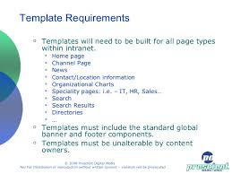 Intranet Requirements Template Web Intranet Planning Workshop Half Day