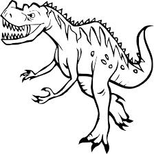 Coloriage Dinosaure Tyrex Dessin Imprimer Sur Coloriages Info