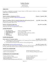 Resume Objectives For Internship Resumes Best Objective In