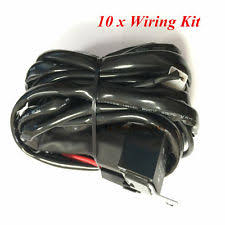 universal wiring harness 10 x universal relay wiring harness wire kit on off switch complete