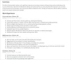 Description Of A Cashier For Resume Inspiration Resume Examples For Cashier Positions Resume Examples Cashier