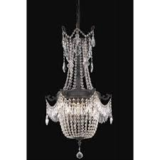 elegant lighting esperanza 18 8 light elegant crystal chandelier
