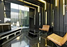 interior industrial design ideas home. Concrete Home Designs In Narrow Slot Architecture Toobe8 Delightful Ideas Showcasing Grand Glass Walls Interior Fascinating Modern Industrial Design By E