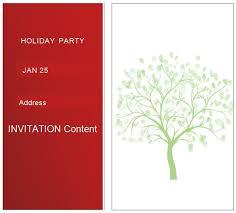Basic Invitation Template Simple Christmas Party Invitations Melaniekannokada Com