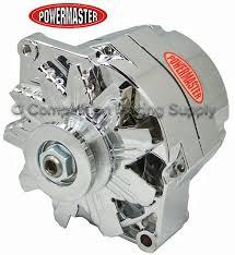 powermaster gm chrome 1 wire 100 amp alternator item prm 17294