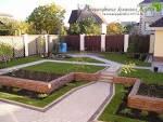 Фото дизайна частного двора