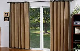 the sliding glass doors for aesthetic and functional doors grommet curtains for sliding glass doors
