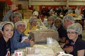 high school lunch table. Image May Contain: 7 People, People Smiling, Sitting, Table, Food High School Lunch Table