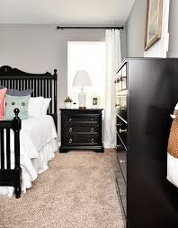 Black bedroom furniture ideas Amazing Master Bedroom Makeover Ideas Master Bedroom Ideas Black Furniture How To Nest For Less Budget Master Bedroom Makeover With Black Furniture