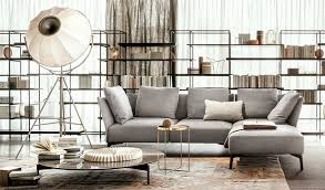 Image Wayfair In This Case The Shelf Installation Can Also Be Mobile Airily And Elegant As Is This System Which Can Also Serves As Space Divider Interiorzinecom Living Room Trends Designs And Ideas 2018 2019 Interiorzine