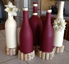 How To Use Wine Bottles For Decoration Decorating With Wine Bottles 100 Ideas About Decorated Wine 97