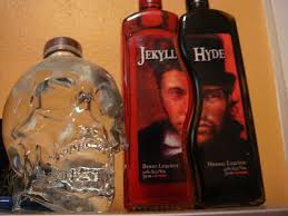 the three liquor bottles seen below are the coolest liquor bottles ever made says i