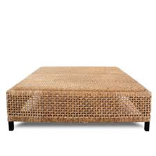 French Ottoman coffee table french square rattan cocktail table ottoman from 2519 by xevi.us