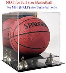 Basketball Display Stand Walmart Amazon Full Size Basketball Display Case Stand UV 35