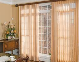 sliding door vertical blinds. Love Ado Wrap Semi Sheers Over Vertical Blinds As A Light Control Window Treatment. Ours Are White And Cover 14 Foot Wall In Our Master Bedroom Sliding Door B