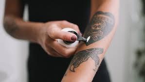 Daily Tattoo Moisturiser Healing Care Cream Electric Ink Skincare